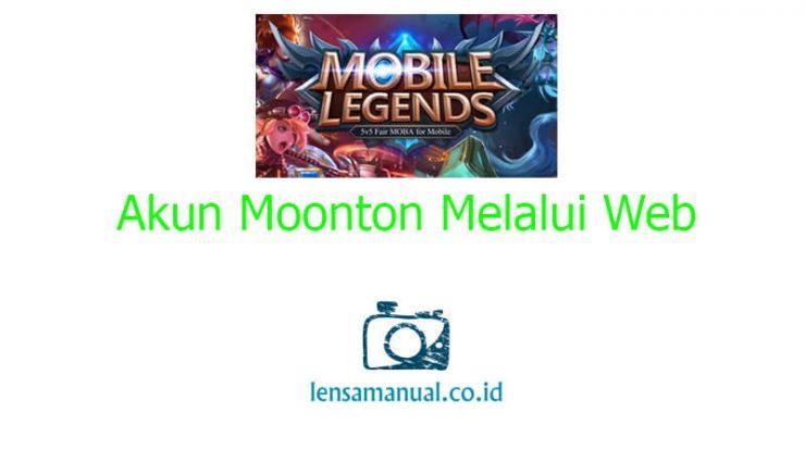 Daftar Akun Moonton Melalui Web