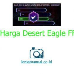 Harga Desert Eagle FF