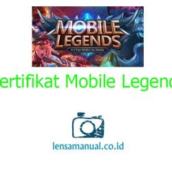 Mentahan Sertifikat Mobile Legends
