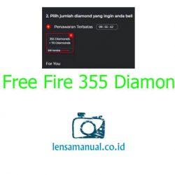 Voucher Bonus Free Fire 355 Diamond