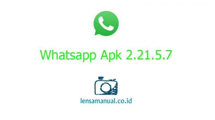 Whatsapp Apk 2 21 5 7