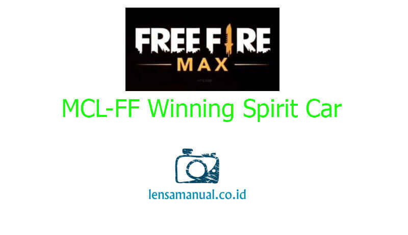 MCL-FF Winning Spirit Car Skin Free Fire