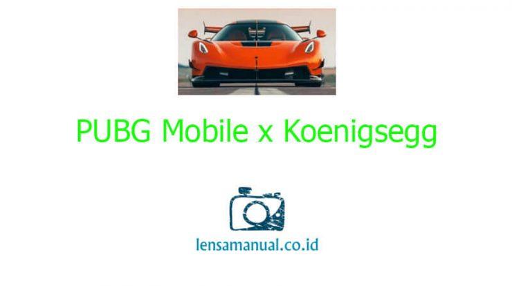 PUBG Mobile x Koenigsegg